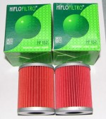 "Aprilia 1000cc Oil Filter 2pk from Hi-Flo (2.75"")"