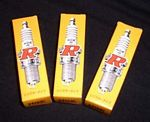 NGK BR7HS Scooter Spark Plugs 3pk