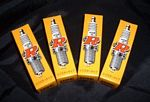 NGK Spark Plugs 4pk for Aprilia 1000cc