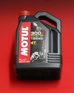 Motul 300V 100% Synthetic Oil 4 Liter 15W50
