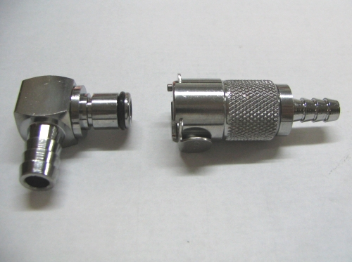 Metal Fuel Quick Disconnect Fitting Set for Futura