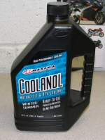 Maxima Coolanol Motorcycle Coolant 64oz