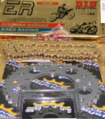 520 Conversion Kit with Sprockets and 520ERV Chain