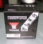 YUASA Battery For SR50, Scarabeo 50 4T, RS125