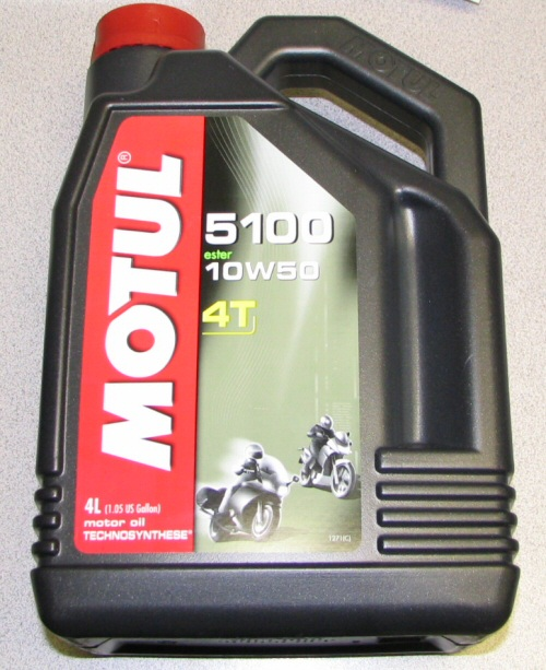Motul 5100 Synthetic Blend 10W50 Motor Oil, 4L