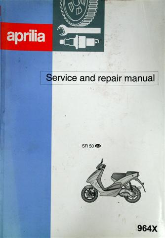 OEM Aprilia Service Manual '97 - '00 SR50 Carb