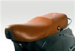 OEM Vespa Leather Seat LX, Brown #602930M0BR
