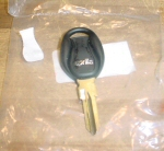 OEM Aprilia Key Blank with Transponder Chip