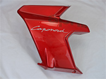 OEM Aprilia LH lat.fairing for flame red CapoNord