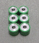 OEM Vespa Roller Weights (qty 6), #842870x6