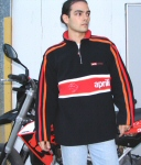 Aprilia Accessories Black Pile Sweater, XXL