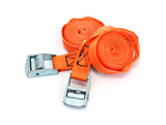 AF1 Racing Tie Downs - Orange Pair