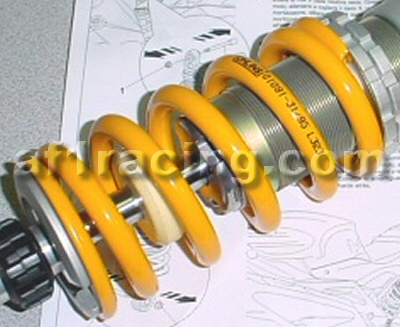 Ohlins Rear Shock Spring