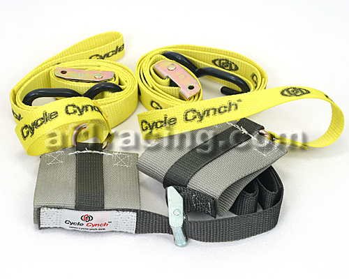 Cycle Cynch Motorcycle Restraint W/ TIE DOWNS