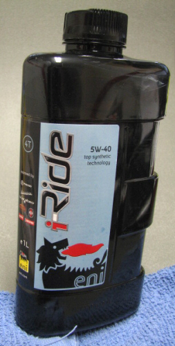 AGIP/Eni Oil Full Synthetic I-ride 5W40 Motor Oil