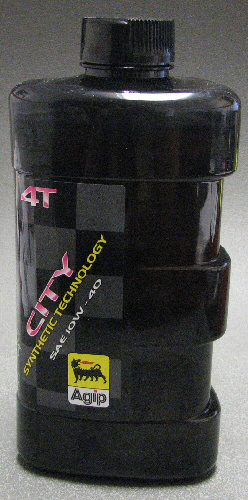 AGIP Oil CITY 4T SEMI SYNTH 10W-40 Motor Oil