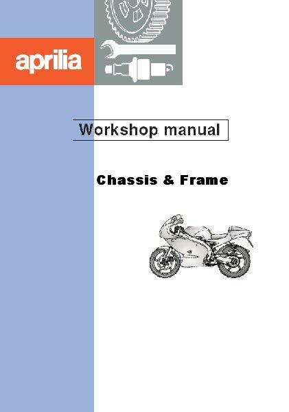 OEM Aprilia WorkShop Manual RS125