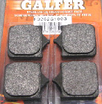 Galfer Racing Brake Pads (Organic/Semi Metallic)