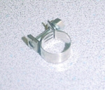 Stainless Steel Smooth Band Fuel Hose Clamp D13