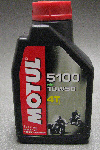 Motul 5100 Semi Synthetic Motor Oil 10W50  1 Liter