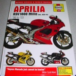 Haynes Service And Repair Manual For '98-'03 Mille