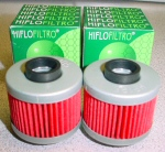 Scarabeo 150 Hi-Flo Replacement Oil Filter 2/pk