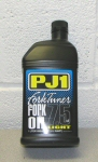 PJ1 Gold Series Fork Tuner Oil 7.5W   1 liter