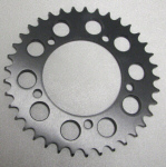 Rear Sprocket Hard Andodized 37-45