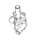 OEM Aprilia Water Pump Assembly - 2A000802