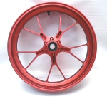 OEM Aprilia Forged Alum Front Wheel -Red 2B002032