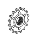 OEM Aprilia 15T Counter Shaft Sprocket -2B004212