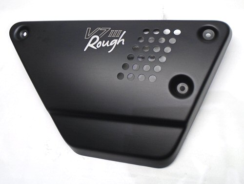 OEM Moto Guzzi RH Side Cover, Black - 2B004966