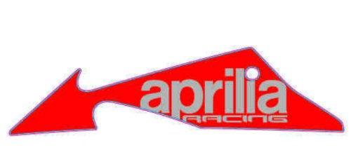 OEM Aprilia LH Lower Fairing Decal - 2H002967