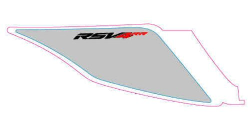OEM Aprilia RH Rear Fairing Decal - 2H002968