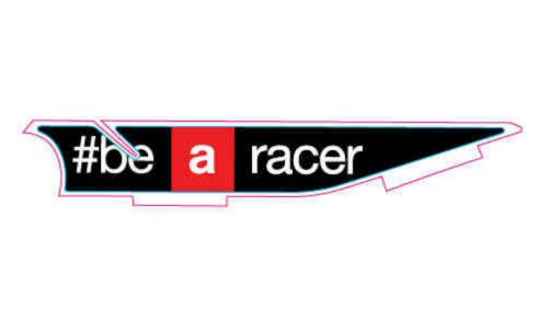 OEM Aprilia LH Decal #bearacer - 2H003063