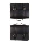 OEM Moto Guzzi Premium Leather Side Bags -2S000522