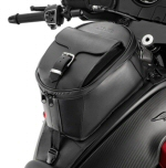 Moto Guzzi Leather Tank Bag - 2S000786