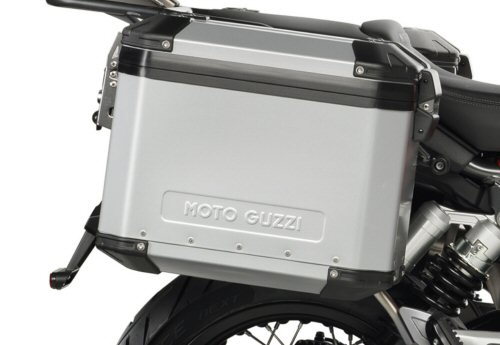 OEM Moto Guzzi Aluminum Side Cases - 2S001301