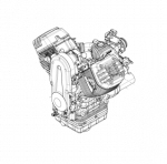 OEM Moto Guzzi Engine Manual 1400cc