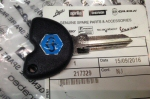 OEM Piaggio key with transponder - 575810