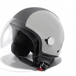 Vespa Copter Silver/Black Leather M - 605484M03F