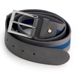 Vespa Accessories Belt, Grey/Blue -605611M0GA
