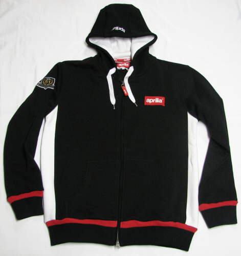 Aprilia Hooded Sweatshirt, Medium - 605785M032
