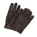 Moto Guzzi Zip Leather Gloves Med - 606082M03Z