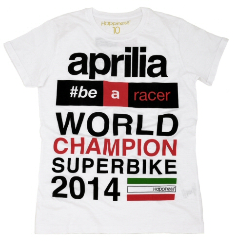 Aprilia 2014 SBK World Title Shirt, M -606090M2AR
