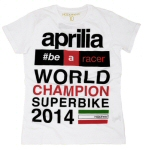 Aprilia 2014 SBK World Title Shirt, XL -606090M4AR