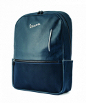 Vespa Backpack Synthetic Leather, Blue
