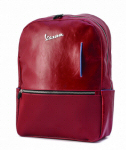 Vespa Backpack Synthetic Leather, Red