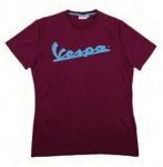 Vespa T-Shirt Burgundy/Bordeaux  M - 606229M02X