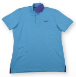 Vespa Polo Shirt, Mens, Blue XL - 606230M04A